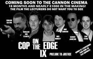 Cop Advance Poster