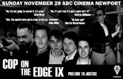 Cop Cinematic Poster