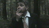 Mike Goddard as the captain chain smokes his way through Tibet