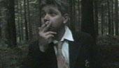 Mike Goddard as the captain chain smokes his way through Tibet